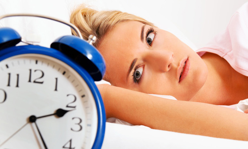 Poor sleeping habits