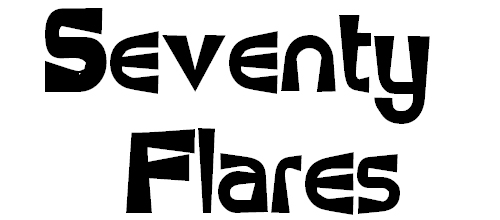 Flare Up Funky Font