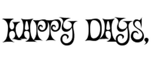 Happy Funky Font