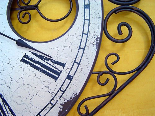 Close up clock photo