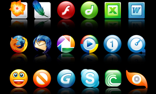Make icons simple