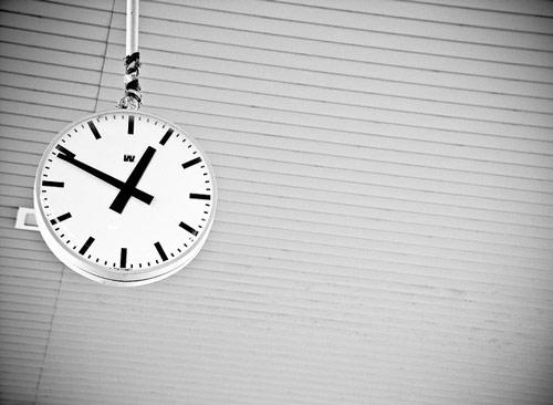 Simply attractive clock photo