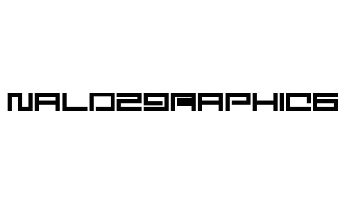 Digit font