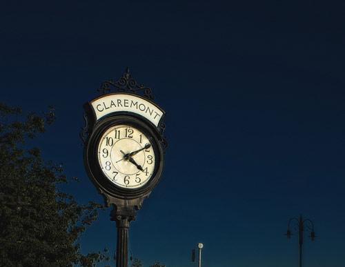 Decorative clock photography
