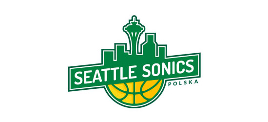 sonics basketball logo design