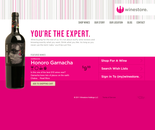 Well-Plotted Pink Themed Website