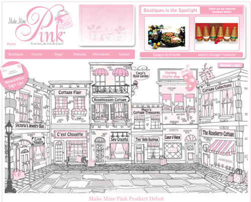 Simply Enriching Pink Themed site