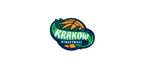 streetball basketball logo design
