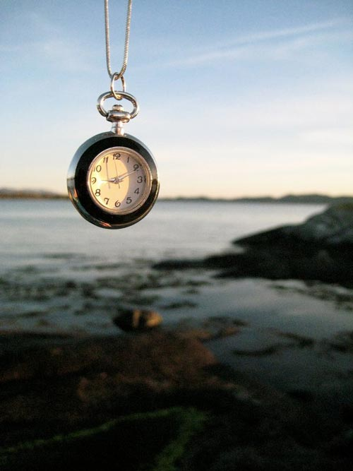 Elegant looking clock photo