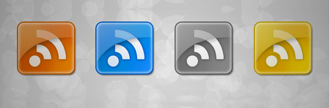 22 New Sets of Free RSS Icons