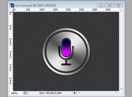 Siri Icon - Step 12a