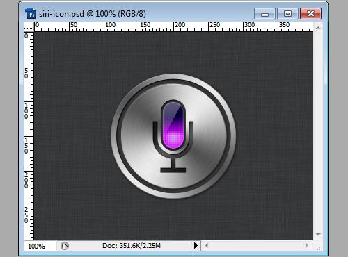 Siri Icon - Step 14d