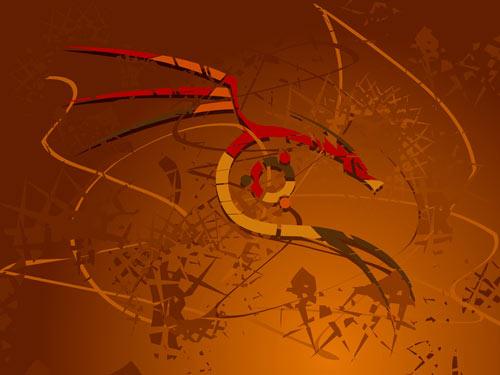 Elegant Dragon Wallpaper