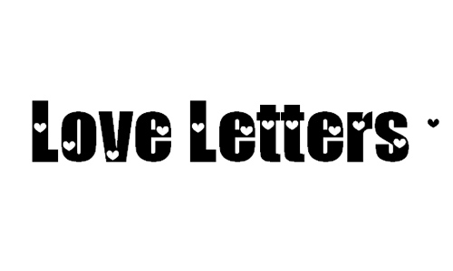 Loveletter no. 9 font befonts. Com.