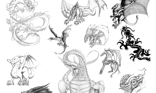 Dragons brushes 3