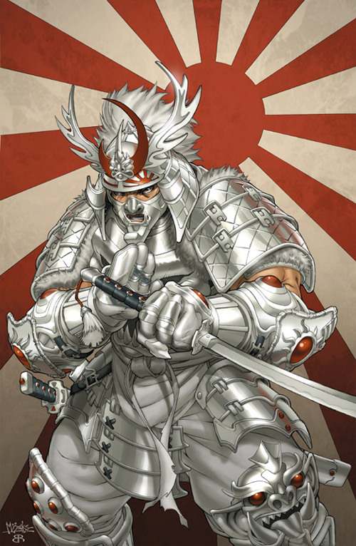 ultimate silver samurai