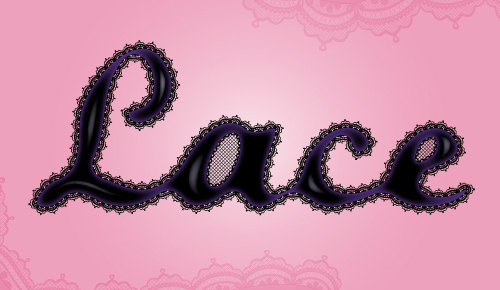 Create a Lace Text Effect in Adobe Illustrator