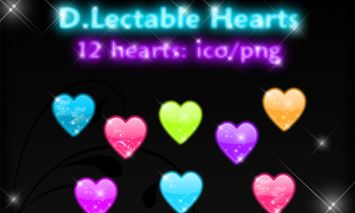 D.Lectable Candee Hearts