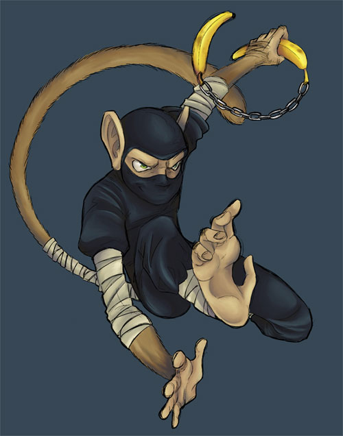 monkey ninja of doom