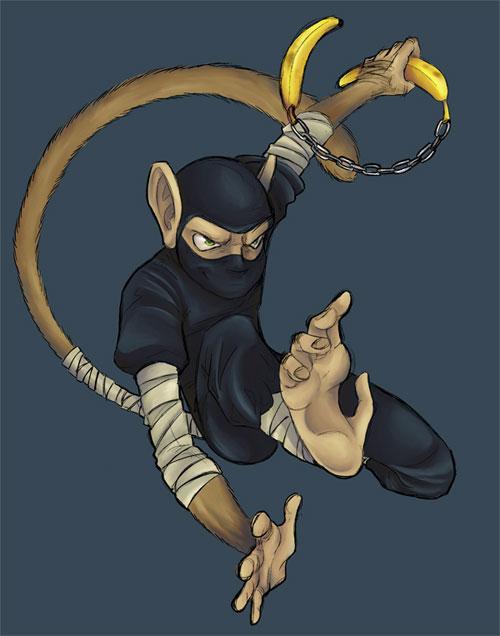 monkey ninja of doom