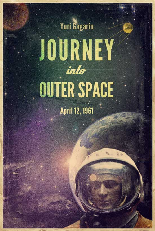 Make a Retro Space Themed Poster in Photoshop
