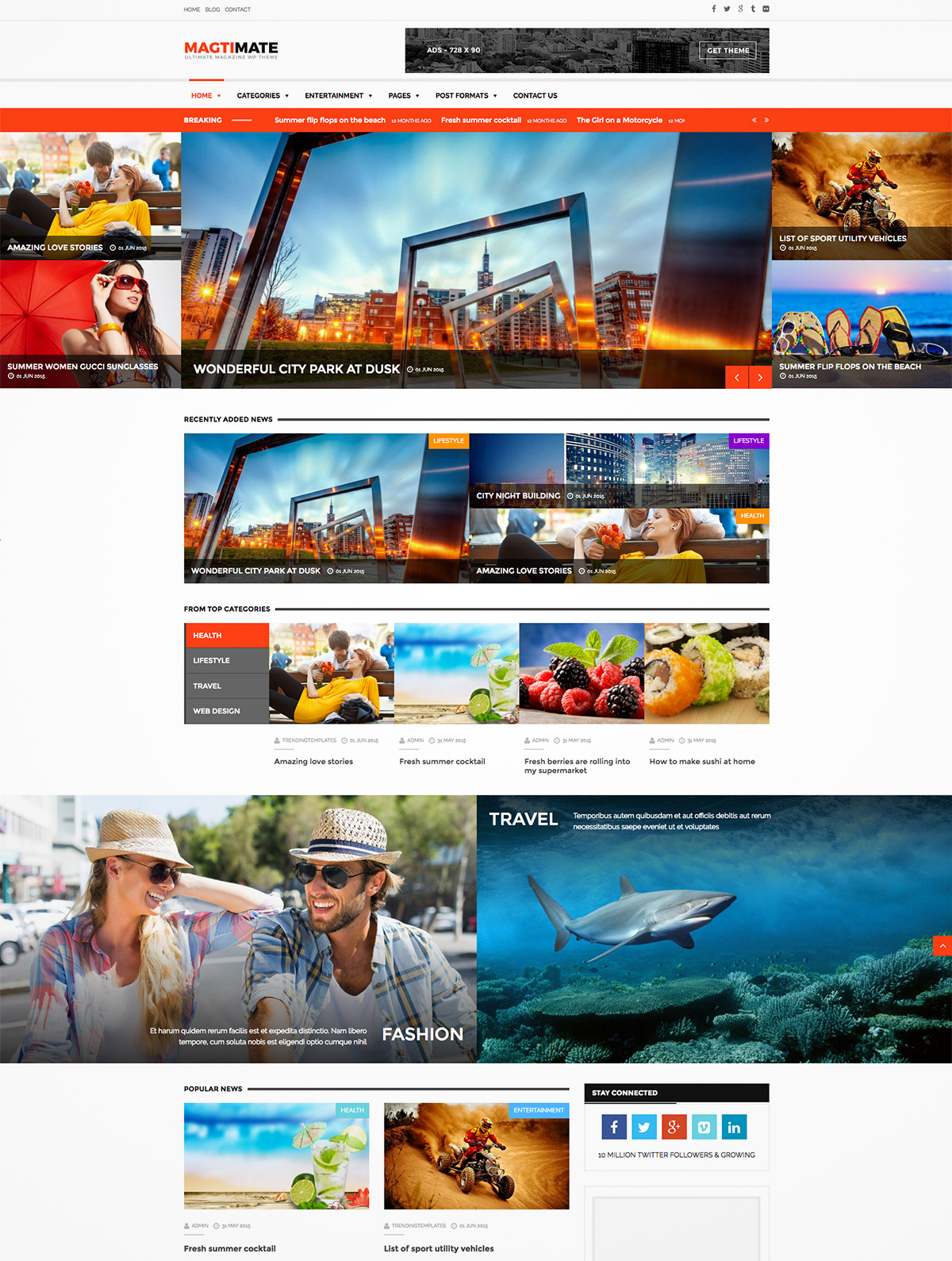 magazine multipurpose theme