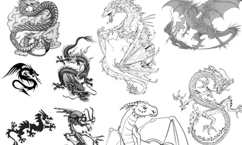 Dragons Brushes 2