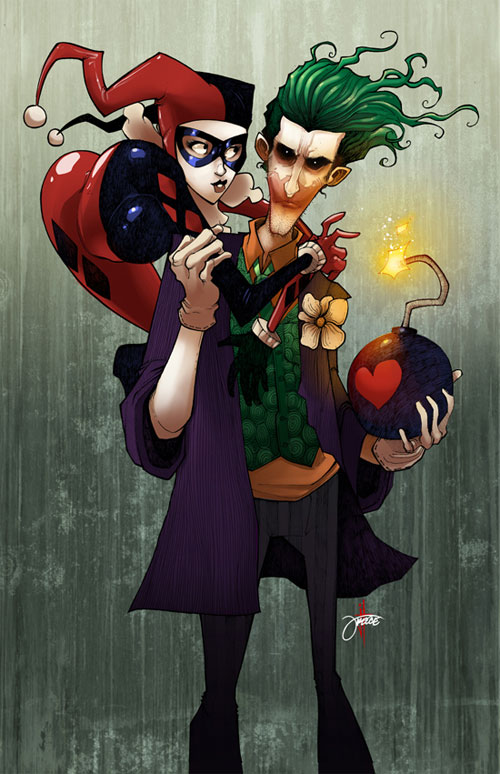 Harley and Joker