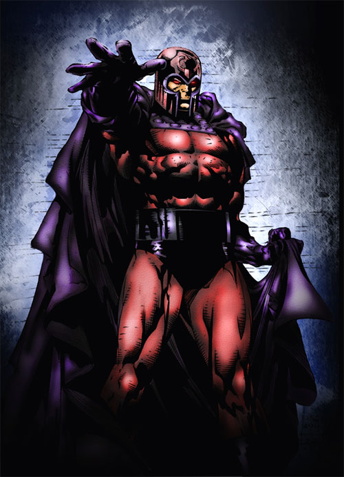 Magneto Coloring Updated