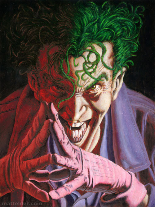 Joker Pin up