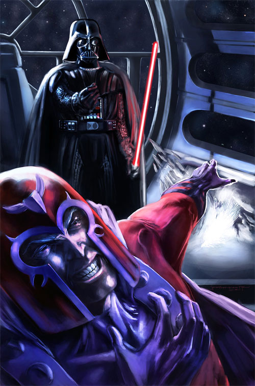 MarvelvsSW Vader vs Magneto
