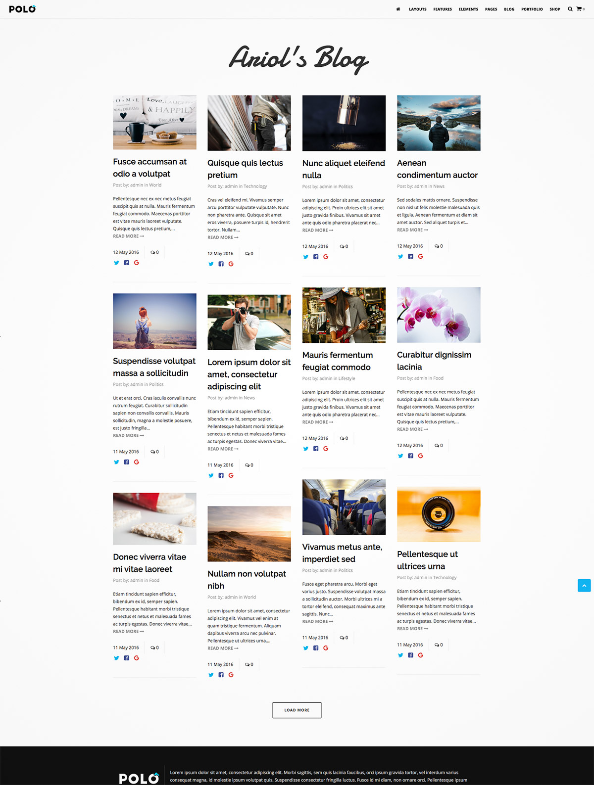 powerful wordpress theme