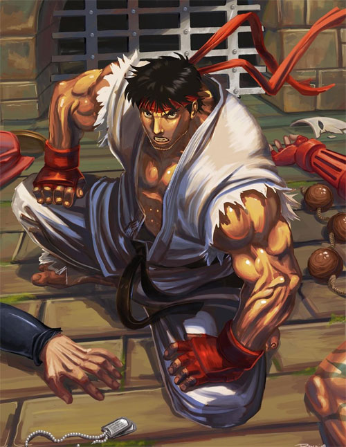 Ryu contest ilustration