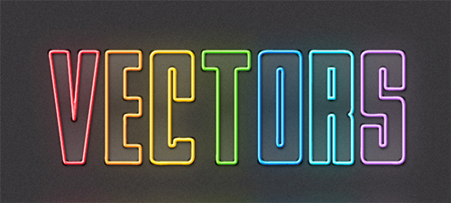 Quick Tip: How to Create Colorful Neon Text with Adobe Illustrator