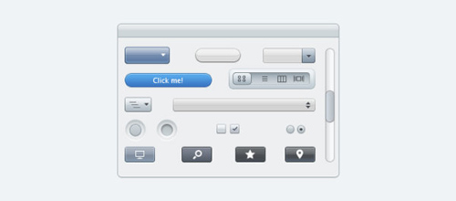 Apple UI Psd