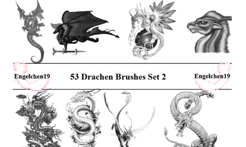 53 Dragons Drachen PS 7