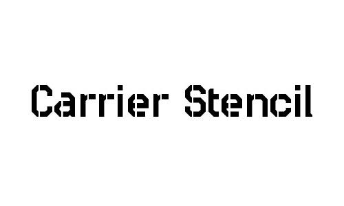 Carrier Stencil