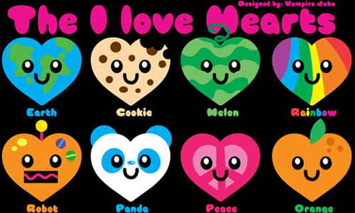 I Loveee Hearts Icons