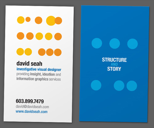 Business Card for: Dave Seah