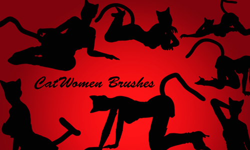 Cat Women Brush Pack