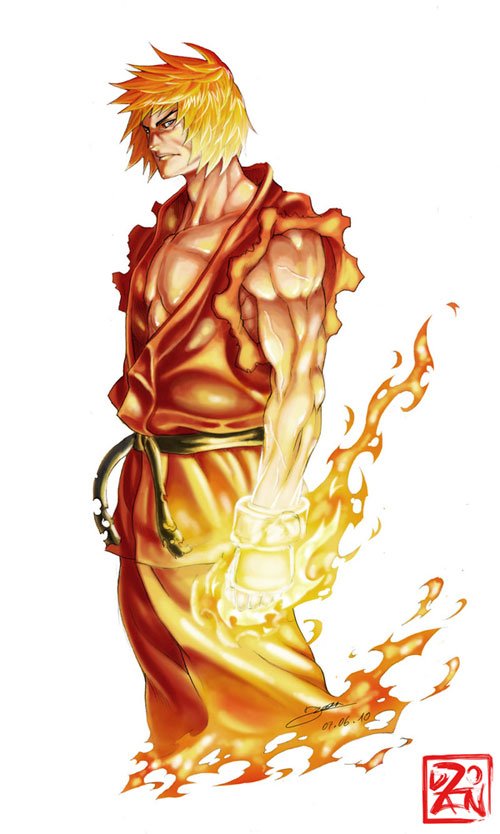 Ken Masters - Shoryuken