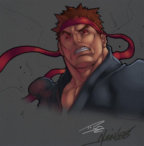 Evil Ryu: Alvin Lee