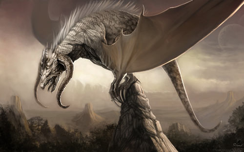 Destructive But Still Amazing Dragon Wallpaper