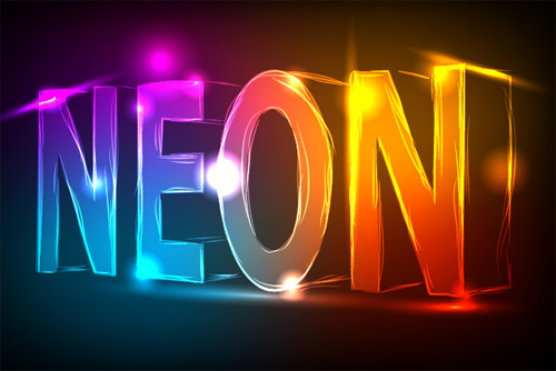 How to Create a Neon Text Effect Using Adobe Illustrator