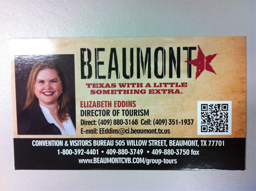 beaumont QR biz card