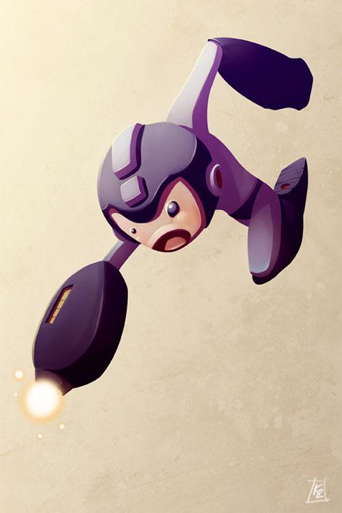 Mornin' Warm-Up : Megaman
