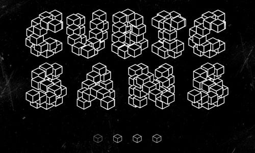cubic sans font