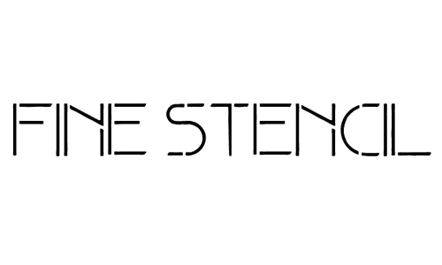 Fine Stencil
