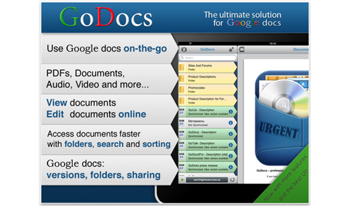 GoDocs for Google Docs