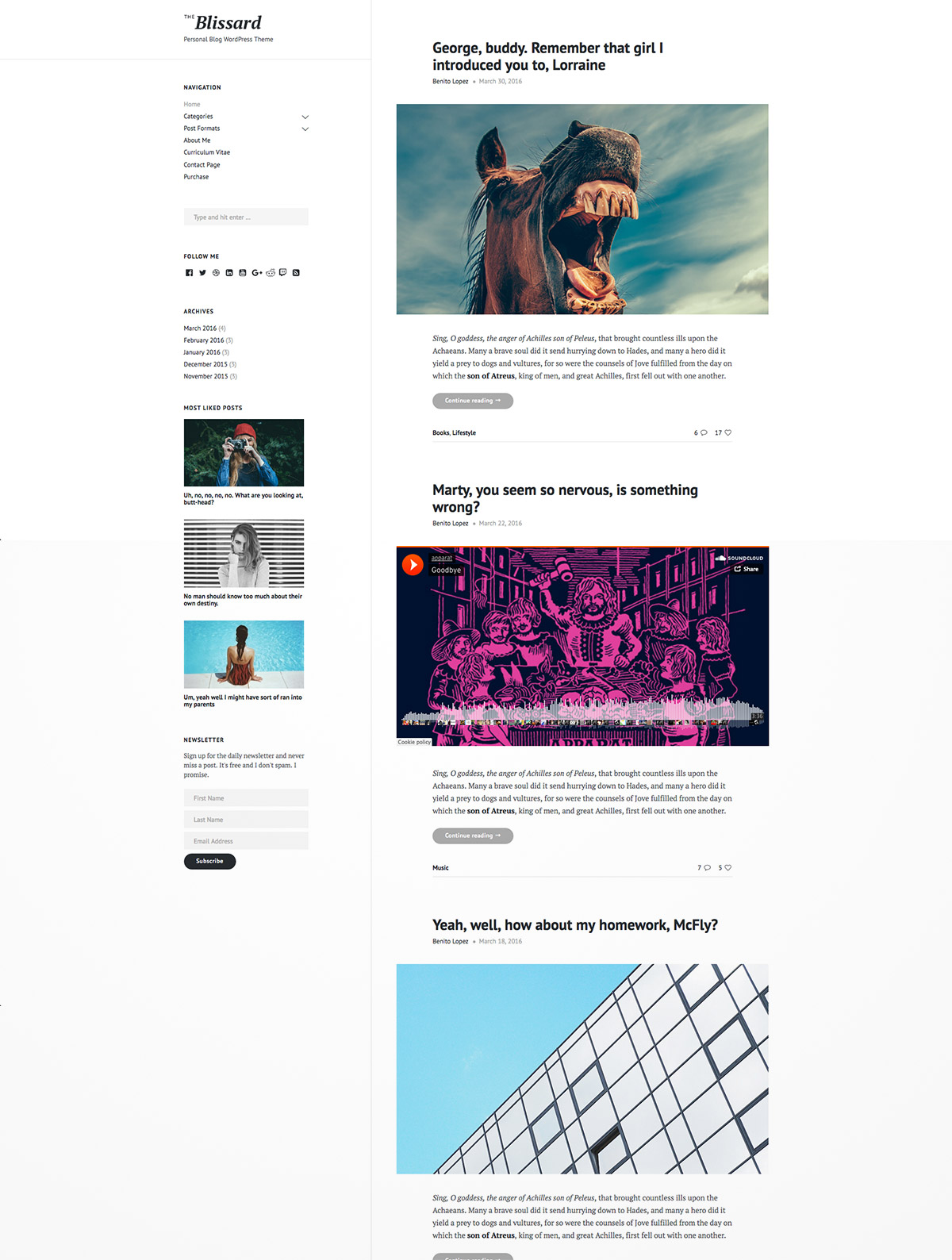 personal magazine wordpress